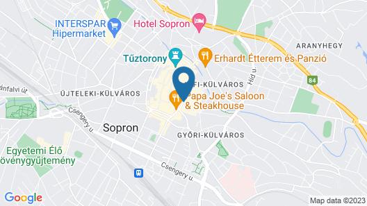 Pannonia Hotel Map