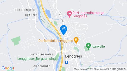 Arabella Brauneck Hotel Map