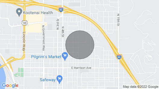 Modern Mid-town Apartment Map