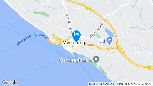 JUFA Hotel Meersburg Map