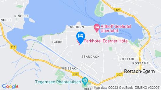 Relais & Chateaux Park-Hotel Egerner Höfe Map