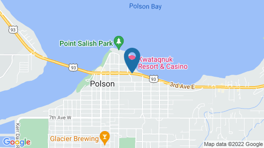 KwaTaqNuk Resort & Casino Map