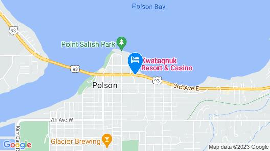 KwaTaqNuk Resort & Casino Map