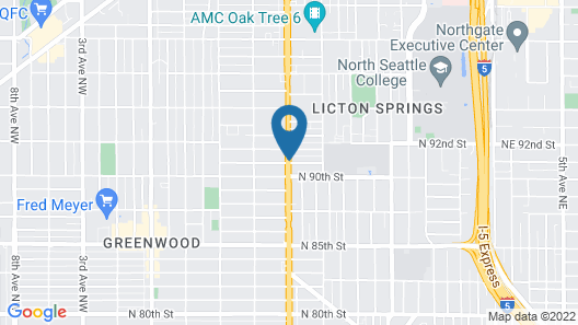 Days Inn by Wyndham Seattle North of Downtown Map