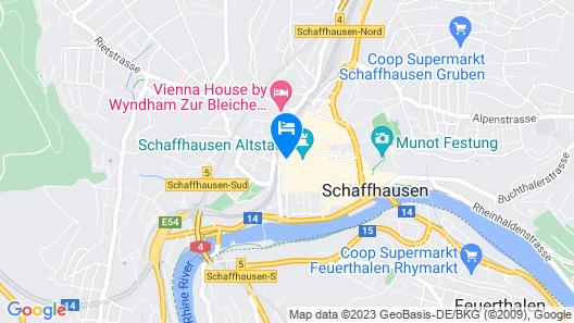 Sorell Hotel Rüden Map