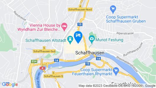 Hotel Kronenhof Map