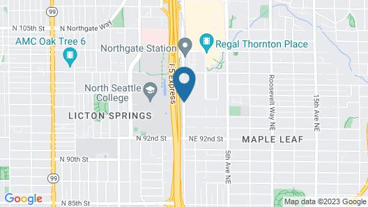 Hampton Inn & Suites by Hilton Seattle/Northgate Map