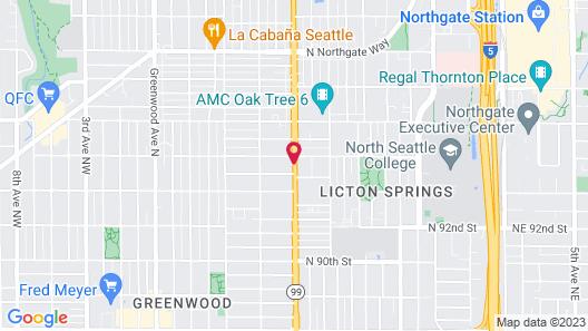 Columbus Motor Inn Map