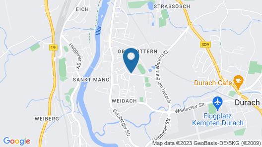 Allgäu room apartment no. 7 Map