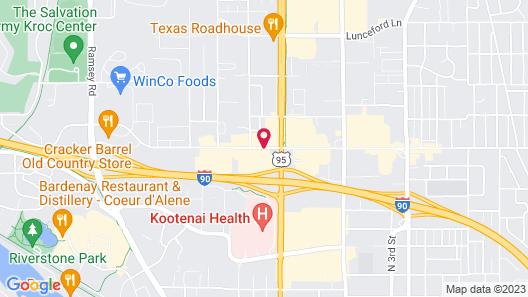 Best Western Plus Coeur d'Alene Inn Map