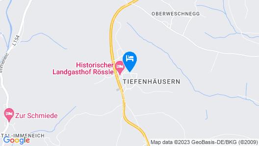 Hotel Das Landhaus Map