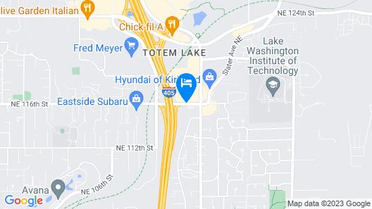Baymont by Wyndham Seattle/Kirkland WA Map