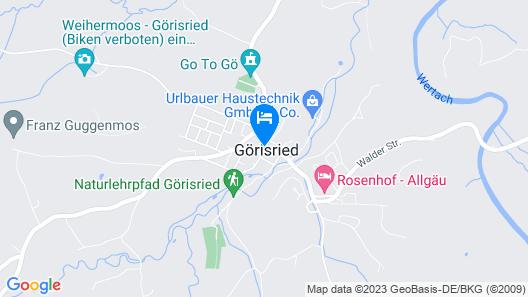 Gasthof zum Hirsch Map