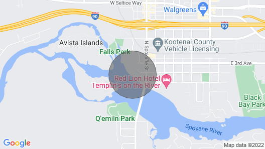 Stunning Condo on the River Map
