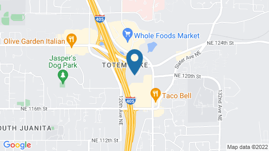 Motel 6 Kirkland, WA - North Kirkland Map