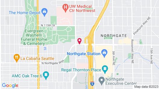 Hotel Nexus, BW Signature Collection Map