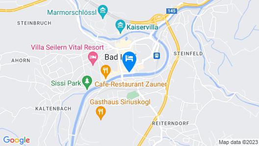 Hotel Goldenes Schiff Map