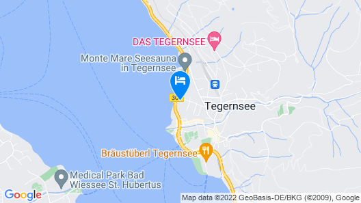 Bavarian Holiday Apartment in Tegernsee With Lake View, Balcony, Garden & Wi-fi Map
