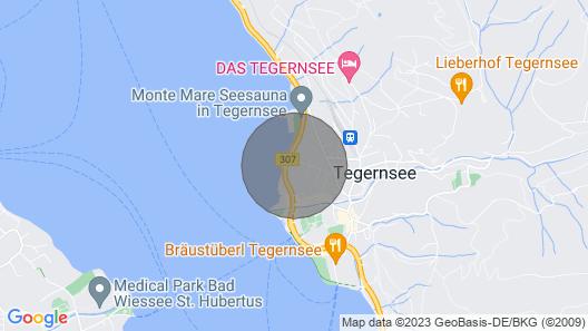 Bayerische Ferienwohnung direkt am Tegernsee mit Seeblick, Balkon, Garten und WLAN Map