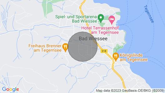 Fewo Wanderlust - Modern & Ruhig am Tegernsee Map