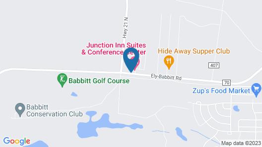 Junction Inn Suites & Conference Center Map