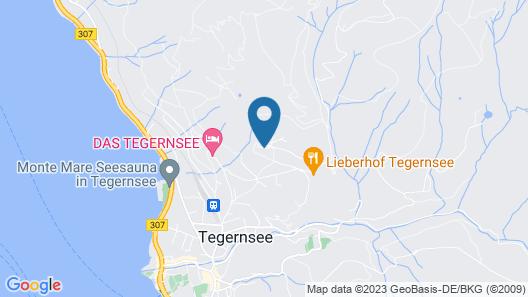Der Westerhof Tegernsee Hotel Map