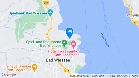 Hotel Alpenhof Map