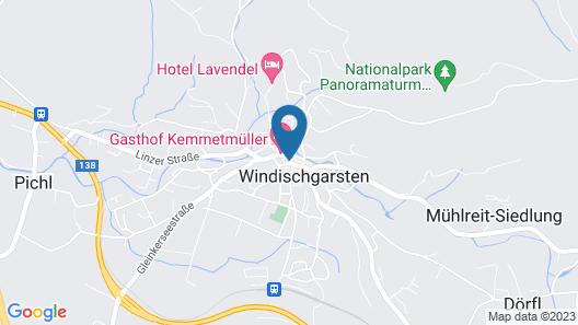 Hotel & Restaurant DAS RÖSSL Map