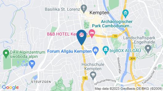 KemptenCityHost Map