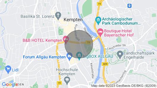 Luxury Suite in the Heart of Kempten + Parking Map