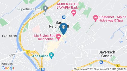 Wyndham Grand Bad Reichenhall Axelmannstein Map
