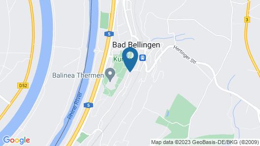 Ringhotel Aparthotel Badblick Map
