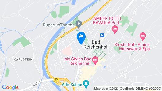 Hotel Bayern Vital Map