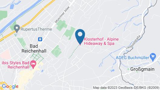 Klosterhof - Alpine Hideaway & Spa Map