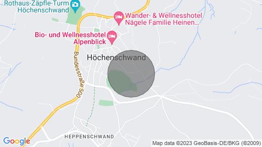 Apartment Haus Sonnenmatt in Höchenschwand - 3 Persons, 1 Bedrooms Map