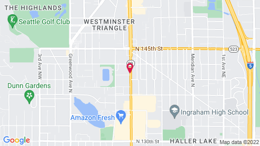 Holiday Inn Express Hotel & Suites North Seattle - Shoreline, an IHG Hotel Map
