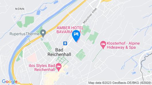 Amber Hotel Bavaria Map