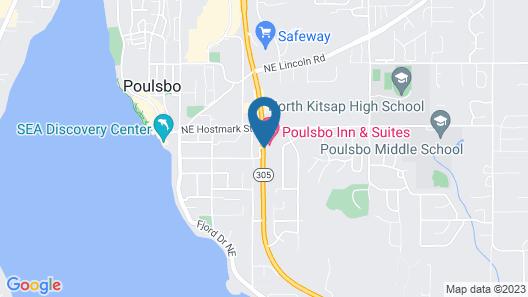 Poulsbo Inn & Suites Map