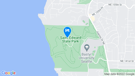 The Lodge at St Edward State park Map