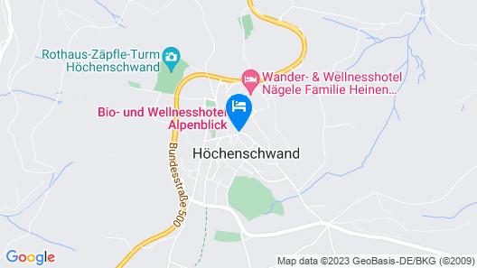 Bio- und Wellnesshotel Alpenblick Map