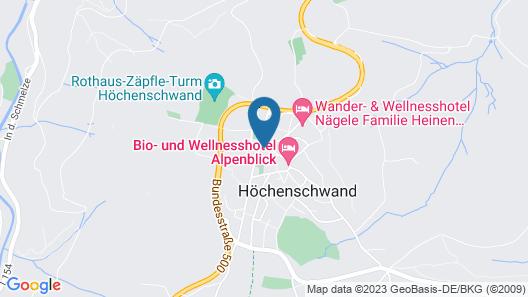 HOFGUT HIMMELREICH Map