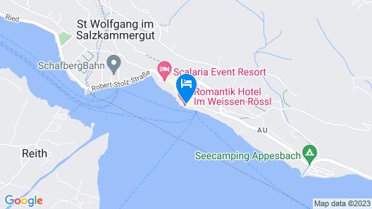 Im Weissen Rössl am Wolfgangsee Map