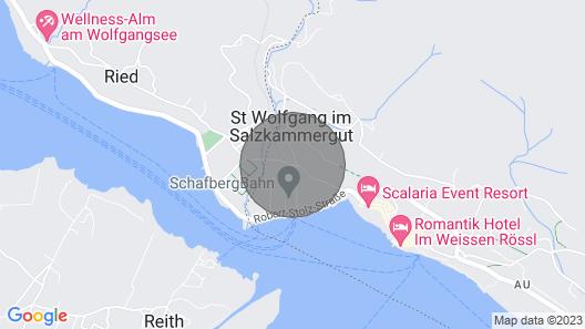 Apartment Waldhorn II für 3-4 Personen in Seenähe, Eigener Badeplatz Map