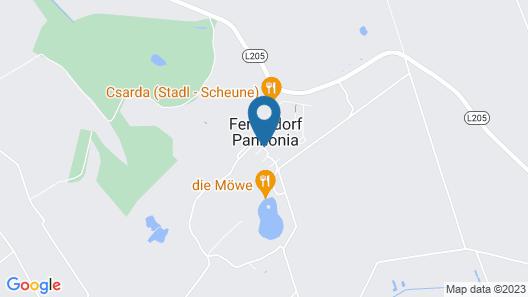 VILA VITA Pannonia Map