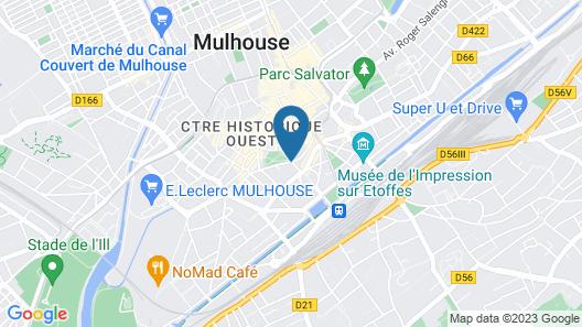 Hotel du Parc - Centre Ville Map