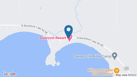 Dunrovin Resort Map