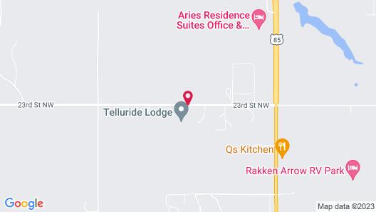 Telluride Lodge Map