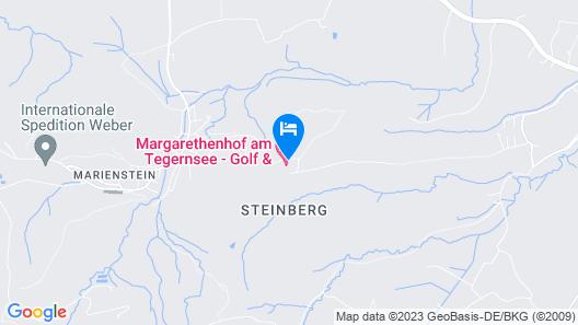 Margarethenhof am Tegernsee Map