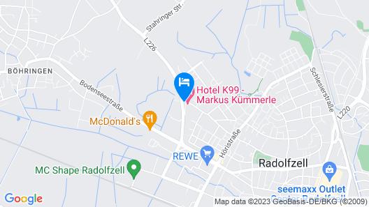 Hotel K99 Map