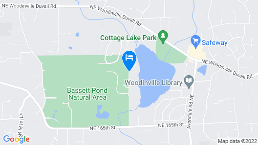 Cottage Lake Bed and Breakfast Map